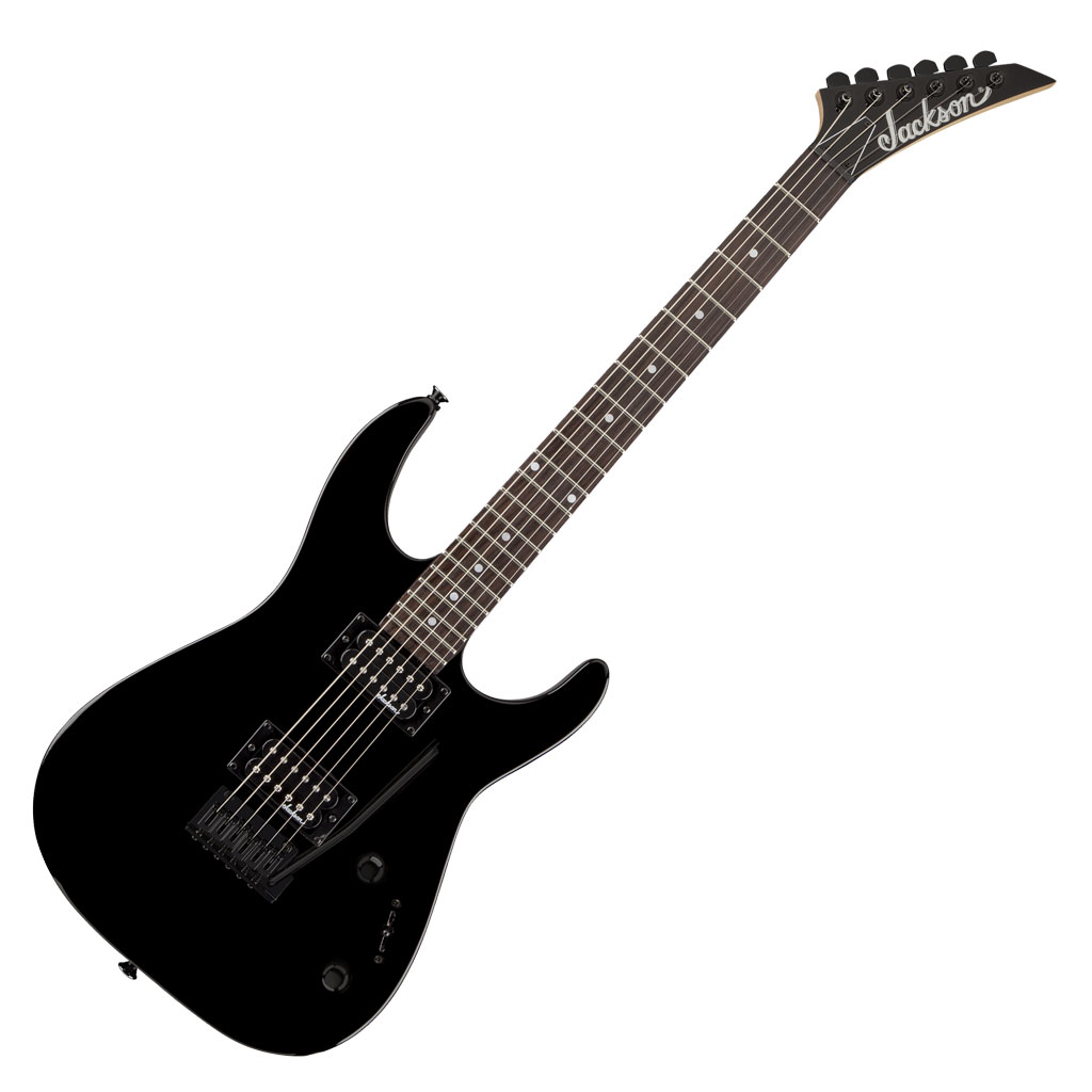 JS Series Dinky JS11 Rosewood Fingerboard Gloss Black - Bananas at Large