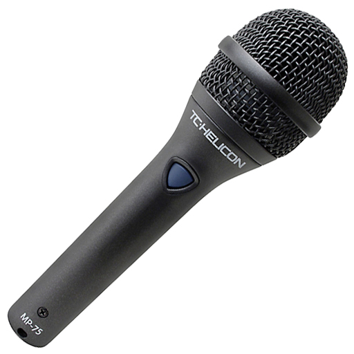 TC-Helicon MP-75 Modern Performance Vocal Microphone - Bananas at Large