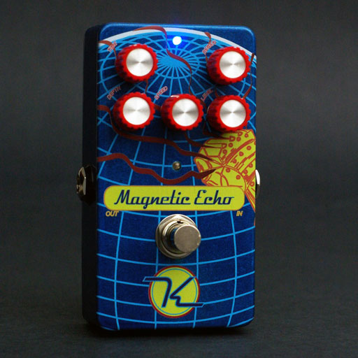 Keeley Magnetic Echo, 40-600ms of Delay with Modulation - Bananas at Large