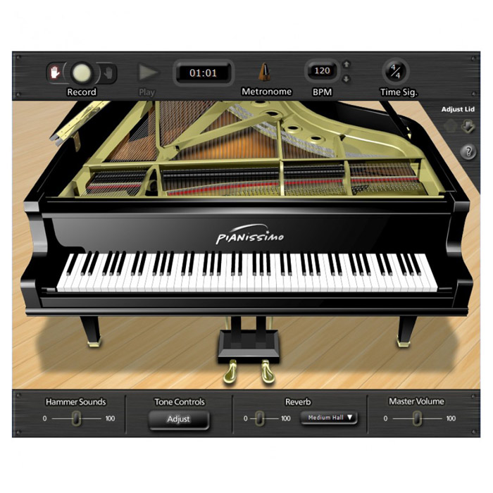 Acoustica PIanissimo Virtual Piano [Download] - Bananas at Large - 1