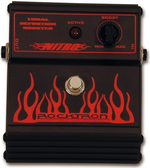 Rockton Nitro Booster/Enhancer Pedal - Bananas at Large