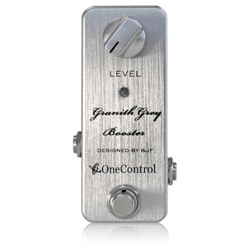 One Control BJF Granith Grey Booster Pedal - Bananas at Large