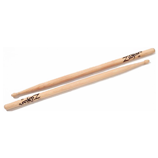 Zildjian 5BWN Natural Hickory 5B Wood Tip Drum Sticks - Bananas at Large