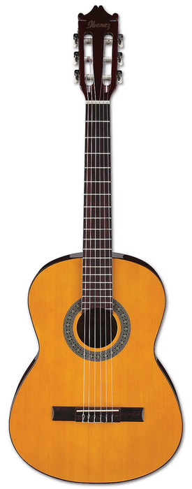 Ibanez GA3 Classical Acoustic Guitar - Amber High Gloss - Bananas At Large®