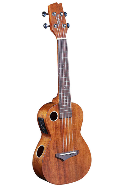 Boulder Creek EUC-5NS Riptide Concert Acoustic Electric Ukulele - Laminated Mahogany Satin Finish
