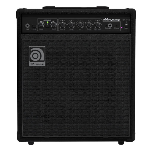 Ampeg BA-110v2 1x10 40 Watt Bass Combo Amplifier - Bananas at Large