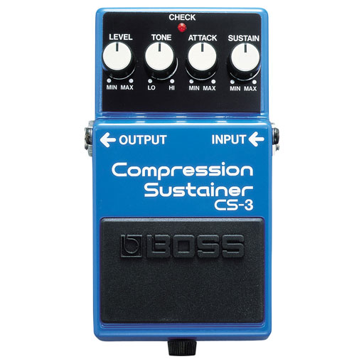 Boss CS-3 Compression Sustainer Pedal - Bananas at Large