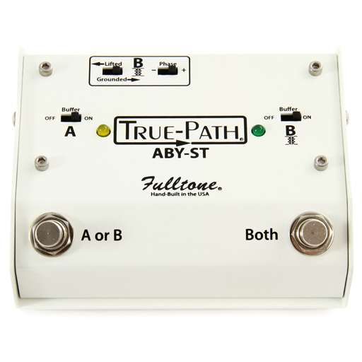 Fulltone Custom Shop True-Path ABY-ST Soft Touch Switching Box - Bananas at Large
