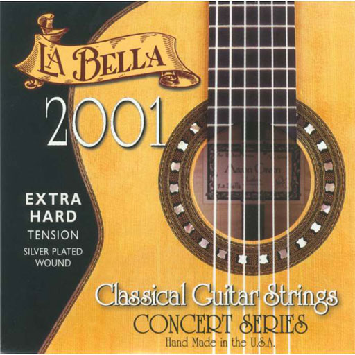 La Bella 2001FEH Flamenco Extra Hard Tension - Bananas at Large