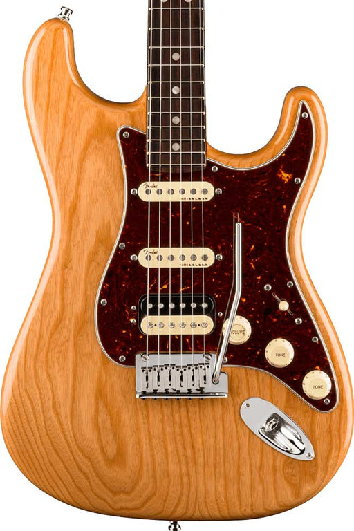 Fender American Ultra HSS Stratocaster with Rosewood Fingerboard - Aged Natural