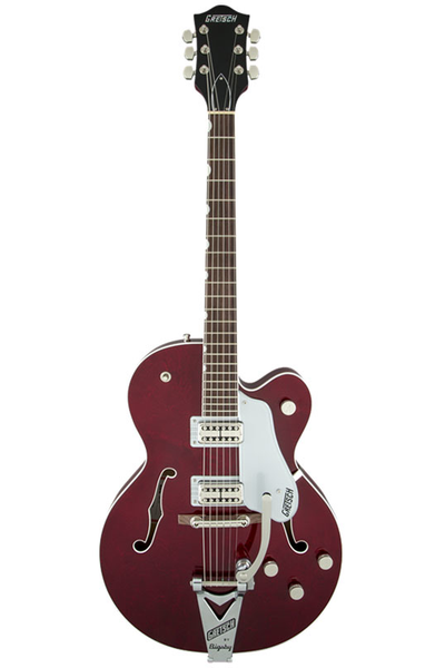 Gretsch G6119T Players Edition Tennessee Rose with String-Thru Bigsby - Dark Cherry Stain - Bananas At Large®