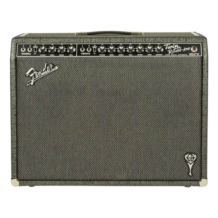 Fender George Benson Twin Reverb 85 Watt Guitar Combo Amp - Bananas At Large®