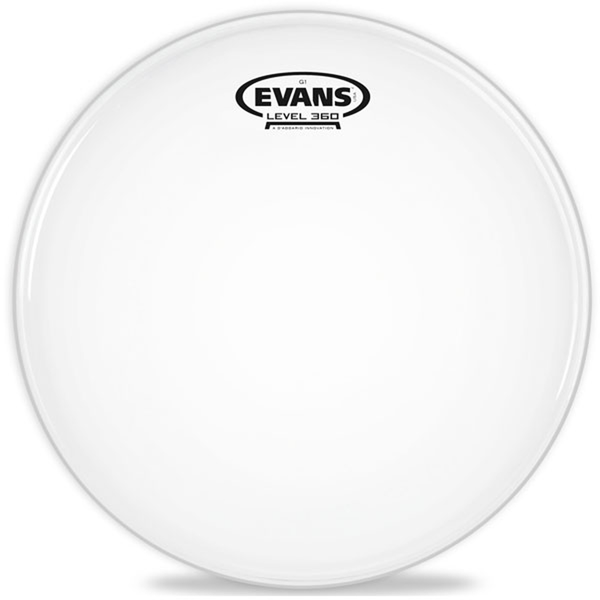 Evans B08G1 8 Inch G1 Coated Tom/Timbale - Bananas at Large