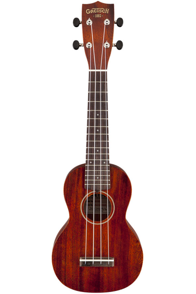Gretsch G9100 Soprano Standard Ukulele with Gig Bag - Vintage Mahogany Stain - Bananas at Large