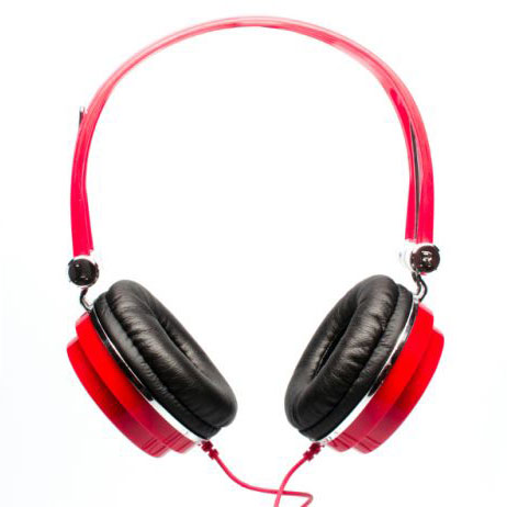 CAD MH100R Closed-Back Studio Headphones - Red - Bananas at Large - 1