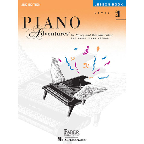 Hal Leonard Piano Adventures Level 2B Lesson Book 2nd Edition - Bananas At Large®