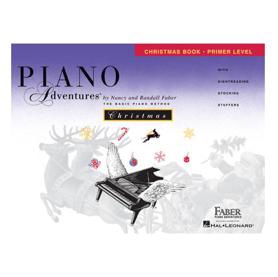Hal Leonard Piano Adventures Primer Level Christmas Book - Bananas At Large®
