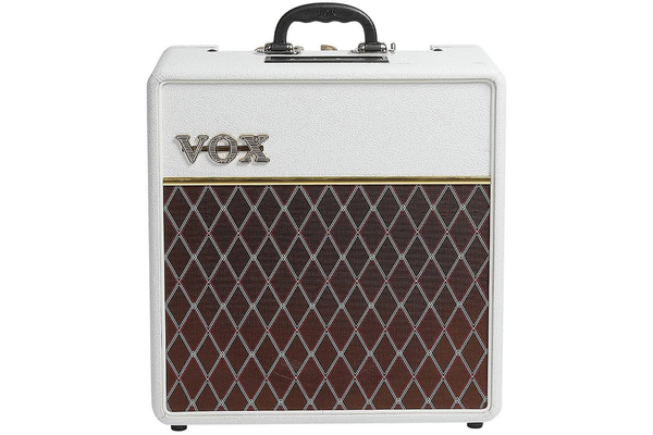 Vox AC4C112 4 Watt Limited Edition Guitar Combo Amp - White Bronco