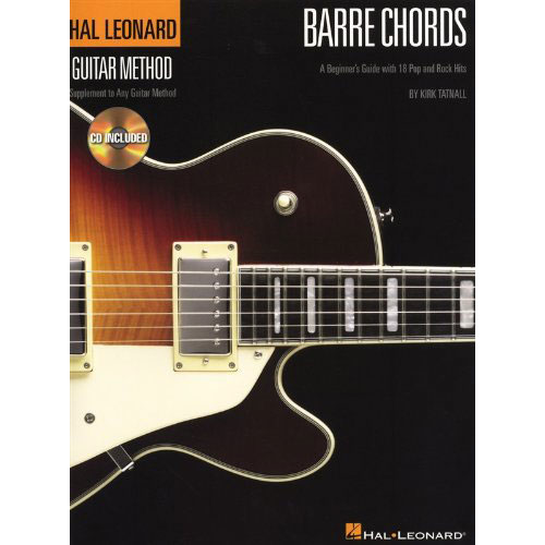 Hal Leonard Barre Chords A Beginner's Guide with 18 Pop and Rock Hits - Bananas At Large®