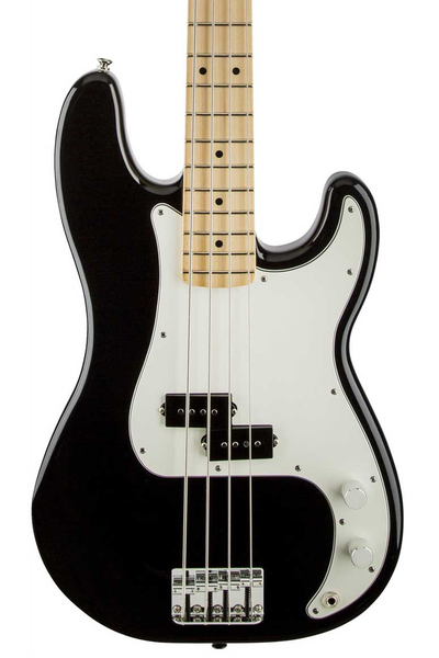 Fender Standard Precision Bass with Maple Fingerboard - Black