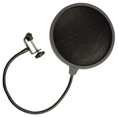 MW Audio Studio Microphone Pop Filter Screen Gooseneck and Clamp - Bananas at Large - 2