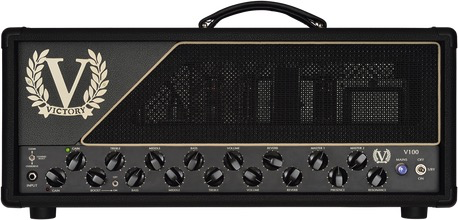 Victory Amplifiers V100 The Duke All Valve 100 Watt Guitar Head - Bananas at Large - 1
