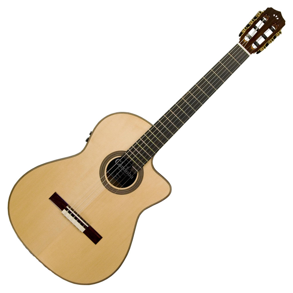 Cordoba 12 Maple Fusion Series Acoustic Electric Nylon String Guitar - Bananas At Large®