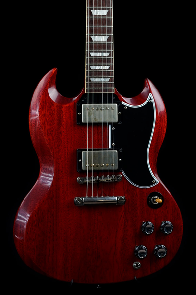Gibson Custom Shop Historic Reissue SG Standard Reissue VOS Faded Cherry with Case (Joe Satriani Private Collection) (Pre-Owned)