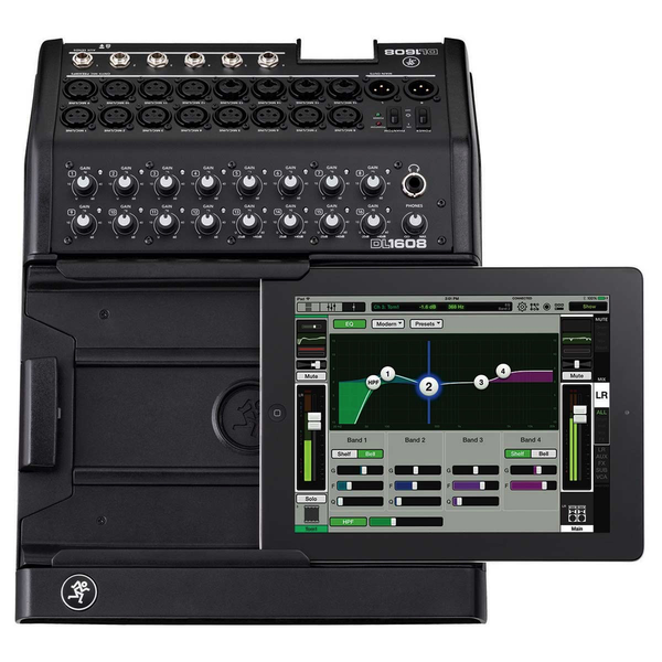 Mackie DL1608 DL 16-channel Digital Live Sound Mixer w/ iPad Control Lightning - Bananas at Large