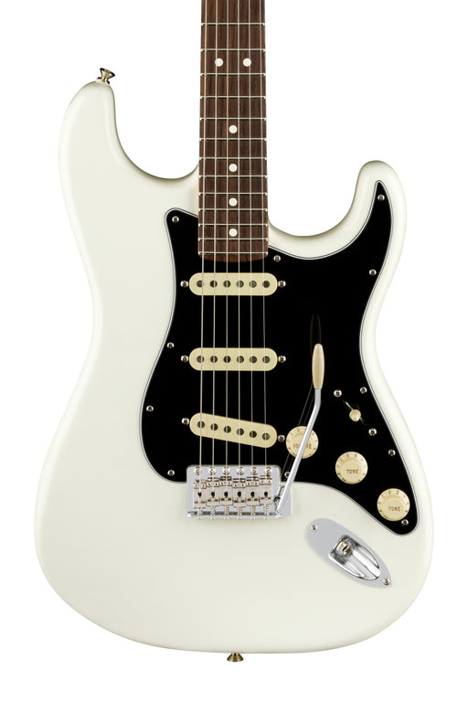 Fender American Performer Stratocaster Electric Guitar, Rosewood Fingerboard - Arctic White