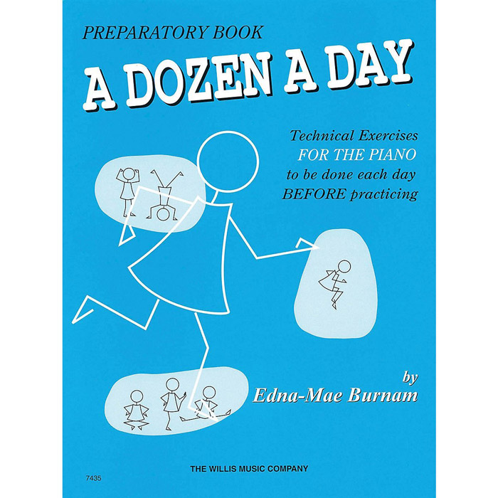 Hal Leonard A Dozen a Day Preparatory Book - Bananas At Large®