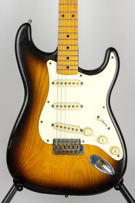 Vintage 1954 Fender Stratocaster Electric Guitar w/Case (Pre-Owned) (Glen Quan Private Collection)