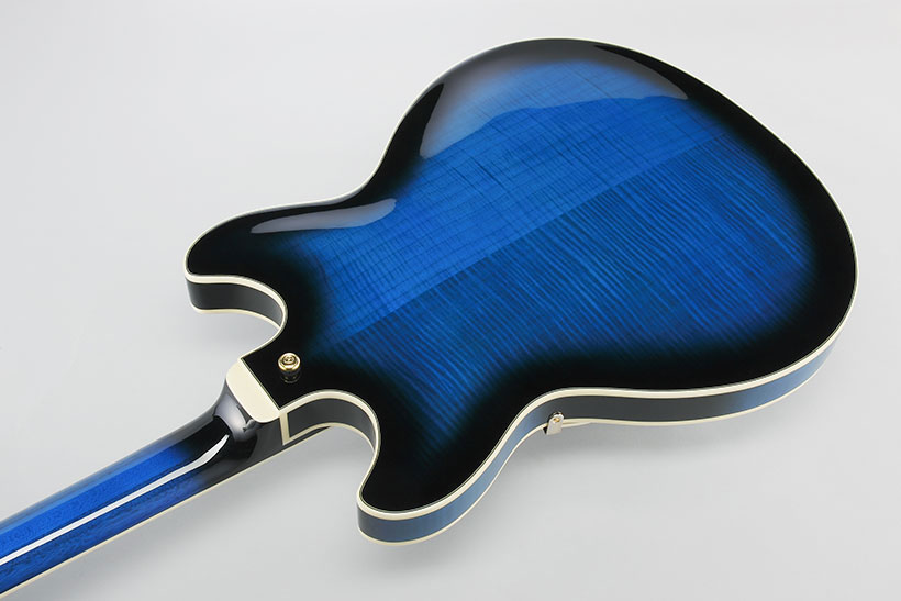 Ibanez AS93 Artcore Expressionist Series Semi Hollow Guitar - Blue Sunburst - Bananas At Large®