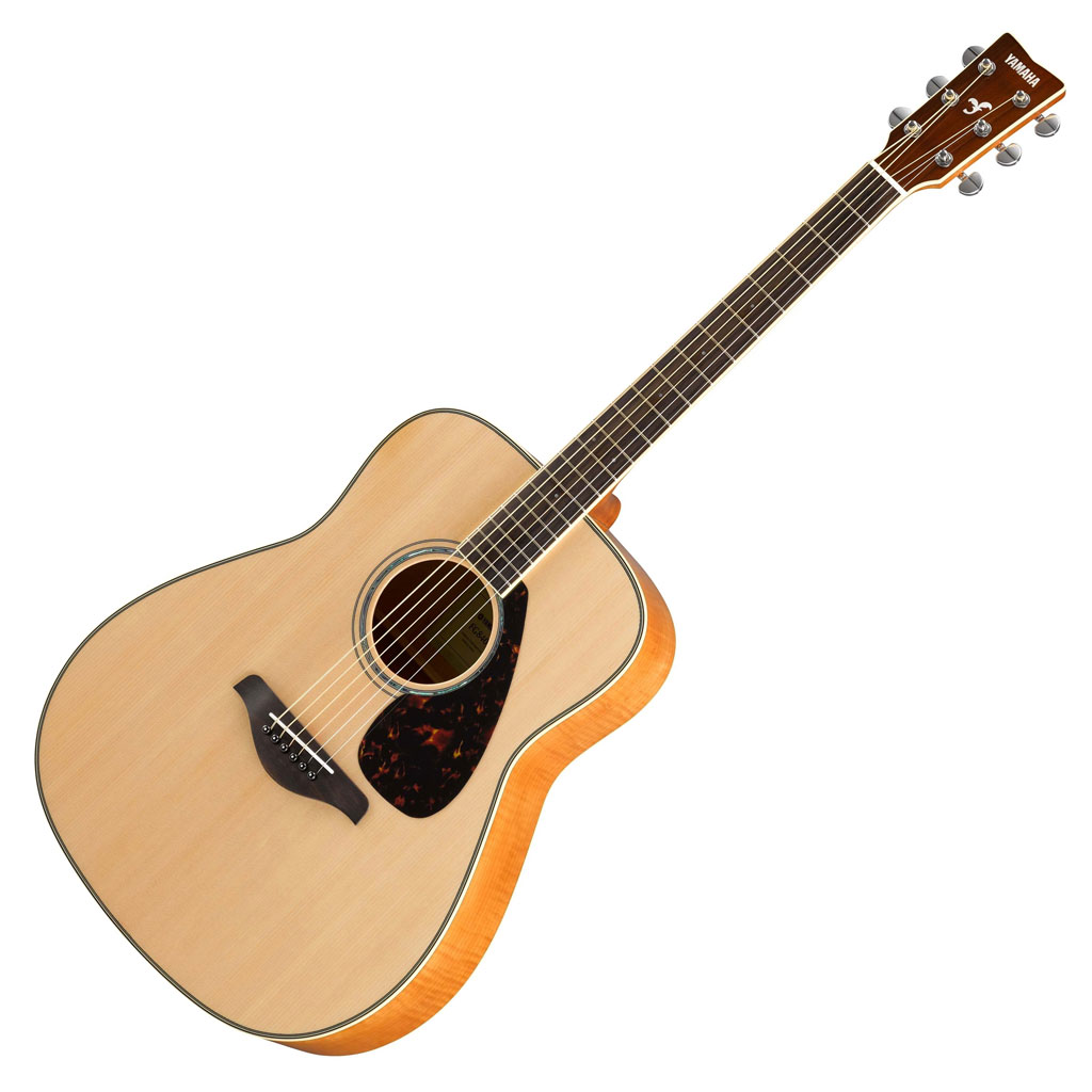 Yamaha FG840 Acoustic Guitar - Natural - Bananas at Large