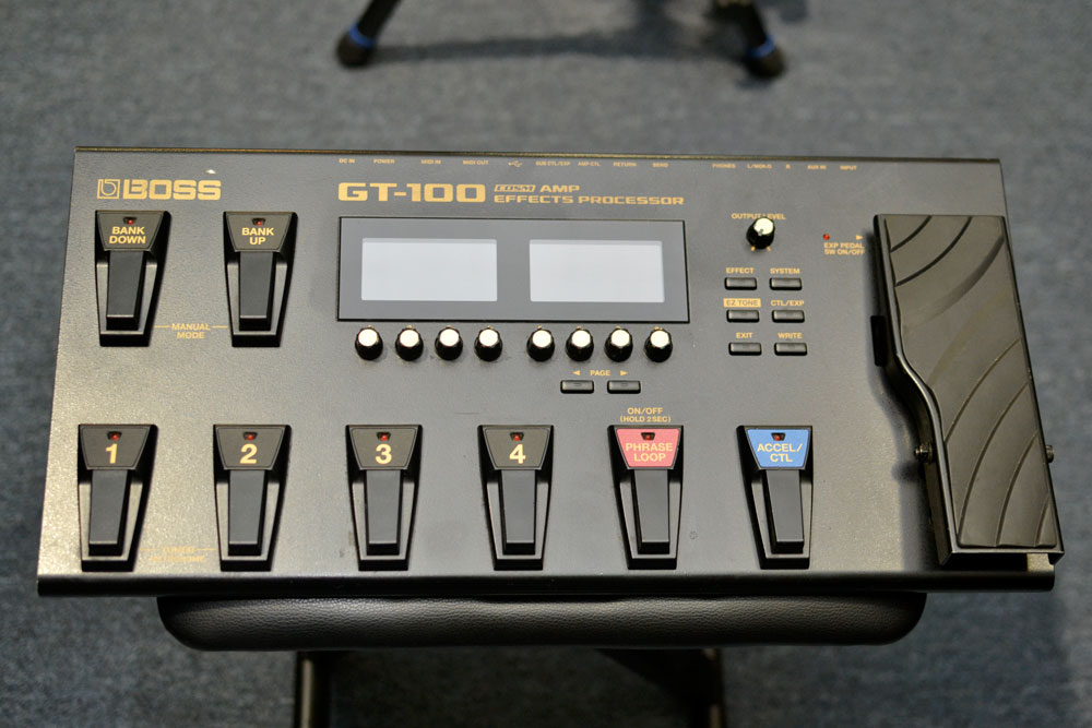 Boss GT-100 Multi-Effects Processor (Pre-Owned) - Bananas at Large - 1