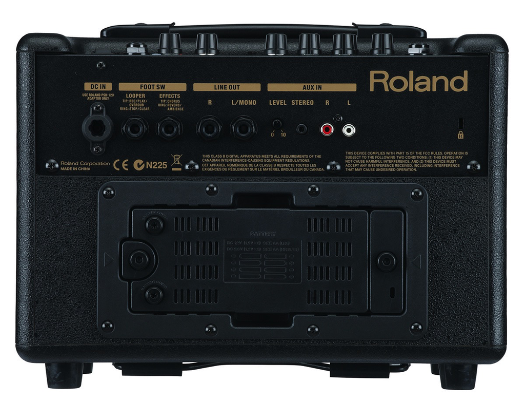 Roland AC-33 Battery-Powered Acoustic Chorus Amp Black - Bananas at Large - 3