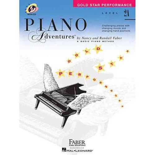Hal Leonard Piano Adventures Level 2A Gold Star Peformancec Book 2nd Edition - Bananas At Large®