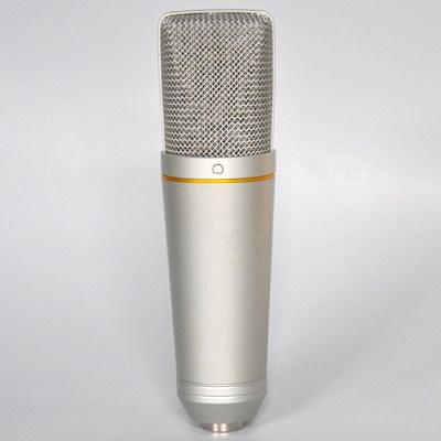 Apex UMC-10 Large Diaphragm Studio Condensor USB Mic with Shock Mount and USB Cable - Bananas at Large