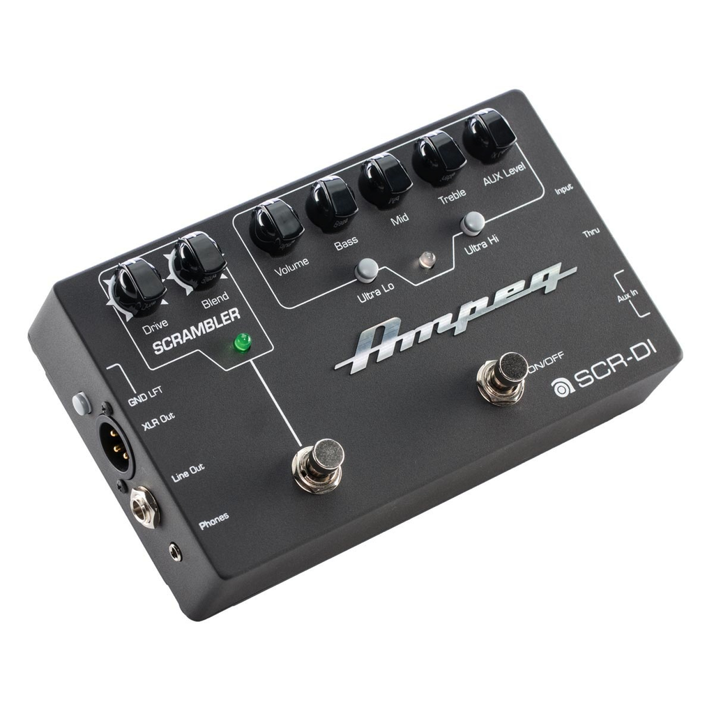 Ampeg SCR-DI Bass DI Preamp with Scrambler Overdrive - Bananas At Large®