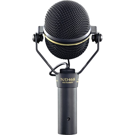 Electro Voice N/D468 Dynamic Supercardioid Instrument Microphone - Bananas at Large