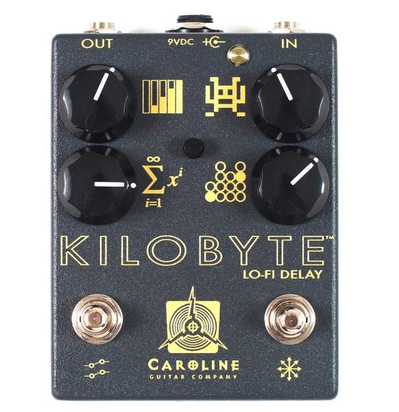 Caroline Guitar Company Kilobyte Delay Pedal - Bananas at Large
