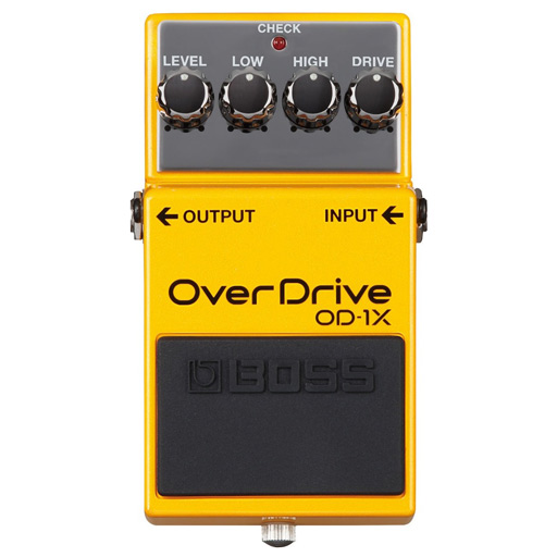 BOSS OD-1x Boutique Style Overdrive Pedal - Bananas at Large