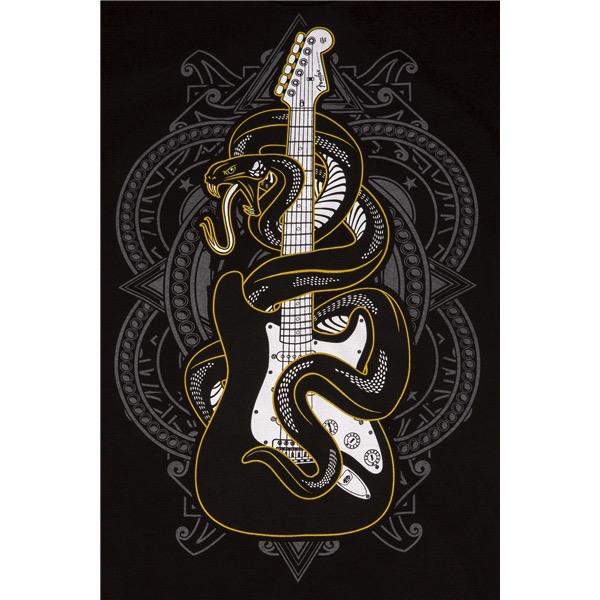 Fender Viper T-Shirt, Black, LARGE - Bananas At Large®