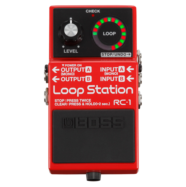 Boss RC-1 Loop Station Pedal - Bananas at Large - 1