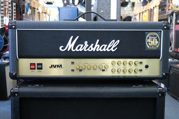 Marshall JVM205H 50-Watt Guitar Valve Amplifier Head (Pre-Owned)(SATC) - Bananas at Large - 1