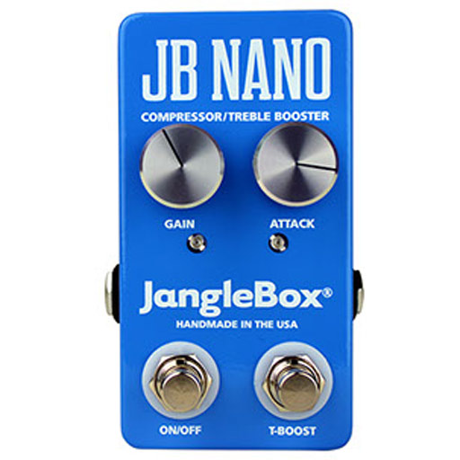 JangleBox JB Nano Compressor/Treble Booster Pedal - Bananas At Large®
