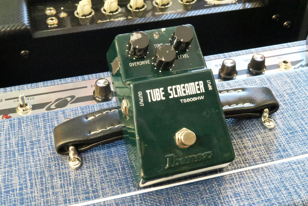Ibanez Tube Screamer TS808 Hand Wired (Pre-Owned) - Bananas at Large - 1