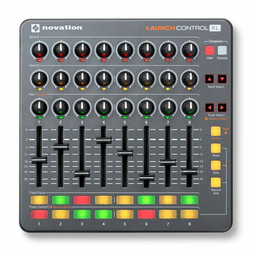 Novation Launch Control XL Effect and Instrument Controller For Ableton Live - Bananas at Large