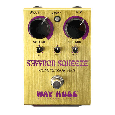 Way Huge WHE103 Electronics Saffron Squeeze Compressor Pedal - Bananas at Large