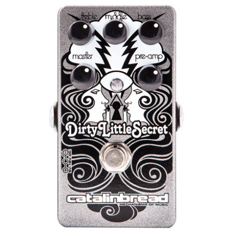 Catalinbread Dirty Little Secret Marshall Amp Emulation Pedal - Bananas At Large®